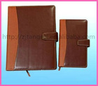 2012 Leather Cover Fashion Notebooks