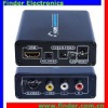 Video converter which converts HDMI to Composite RCA Video (AV) & S-Video