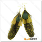 Newest 2011 Feather Earring