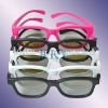 Polarized Plastic 3d eyewear for movie theater