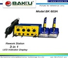 500W hot air BGA rework station ( 3 in1)