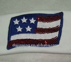 embroidery flag patch