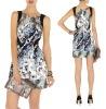 Designer printed women party dress