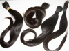 unprocessed virgin human hair material /hair bulk