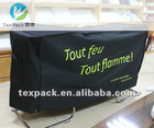 Outdoor funiture covers in black polyester (oxford) for Storage chest