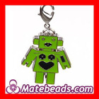 Unique Fashion Dangle Alloy Robot Jewelry Charms Wholesale