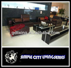 Hot selling living room modern leather leisure sofa 2Y211