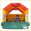Inflatable bouncer/house made of PVC for fun