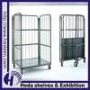 Warehouse Rolling Cage Cart