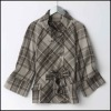 100% Polyester Batwing Coat Hf1304