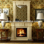 Marble and Granite Fireplace Fire Place
