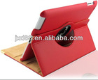 360 rotation leathe cover for ipad mini case