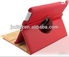 360 rotation leathe cover for ipad mini case