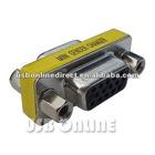 High quality generic 15 HD/DB/15 VGA/SVGA KVM Gender Changer Adapter F-F