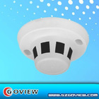 cctv hidden camera with smoke detetor design with 3.6mm board lens
