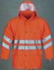 EN471 PU rain jacket for men