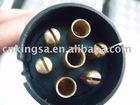 7 pin Round Trailer Plug