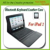 Wireless Bluetooth Keyboard And PU Leather Case for iPad 2