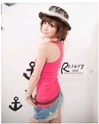 BFYL187 Lowest price for lady tank top new style vest