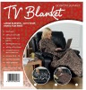 Printed TV blanket Sleeve Blanket Polar Fleece Blanket