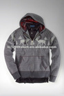 Custom Private Label and Logo Zipper-up Hoodies