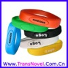 Colorful Silicon Bracelet Unique USB Flash Drive CE