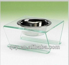 2012 special offered exquisite acrylic pet bowl holder