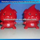 plastic pig coin bank/plastic coin bank/coin box