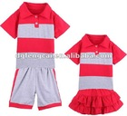 100% cotton primary school uniform for boys and girls