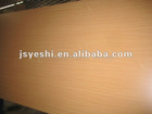 two sides golden beech melamine E2 MDF board