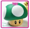 Super Mario Bros Green MUSHROOM Coin Box Piggy Bank NEW TG0898