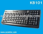 KB101 --- 101 Keys Magnetic Card Reader Installed POS Keyboard