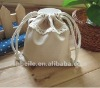 Lovely lace drawstring bag