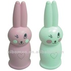 gift promotional lovely rabbit radio with speaker and lasting antenna