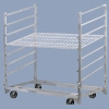 Aluminum Bread Rack Cart