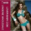 Ruffle design one strape fashion swimwear bikini 2012