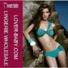 Ruffle design one strape fashion swimwear bikini 2012