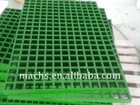 concave top with grit frp grating