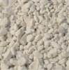 Natural white flat river stone