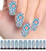 M1-001 Polish Water Print Nail Stickers