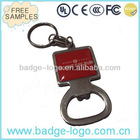 simple design promotional keychain with wine opener
