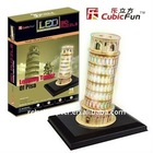 Cubic Fun LED 3D Leaning Tower Puzzles