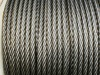 Steel wire rope for hoist