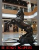 big animal sculpture for public decoration
