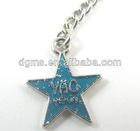 zinc alloy star shape charm