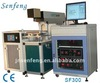 plastic buttons laser engraving machine SF400