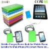 5000mAh rechargeable external battery charger mobile phone