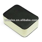 (black and white collocation) 2012 new/fashion/popular/high-grade leather jewelry box