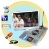 Hot!17 Inch TFT LCD Portable TV DVD Player