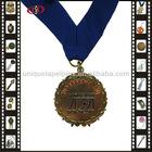 Metal Medal And Ribbon